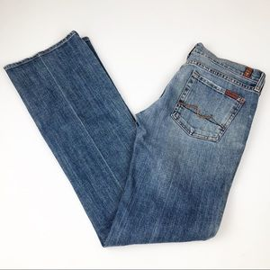 7 For All Mankind Womens Designer Bootcut Jeans 29